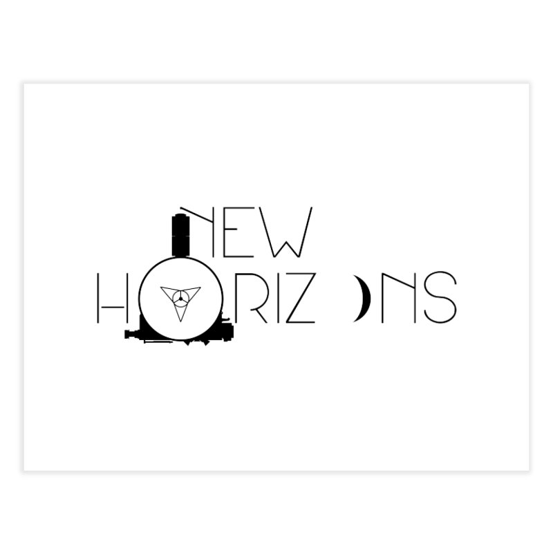New Horizons Home Fine Art Print by Photon Illustration's Artist Shop