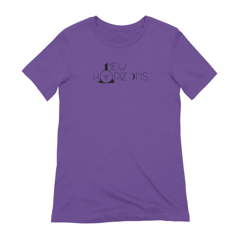 New Horizons Women's Extra Soft T-Shirt by Photon Illustration's Artist Shop