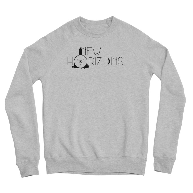 New Horizons Men's Sponge Fleece Sweatshirt by Photon Illustration's Artist Shop