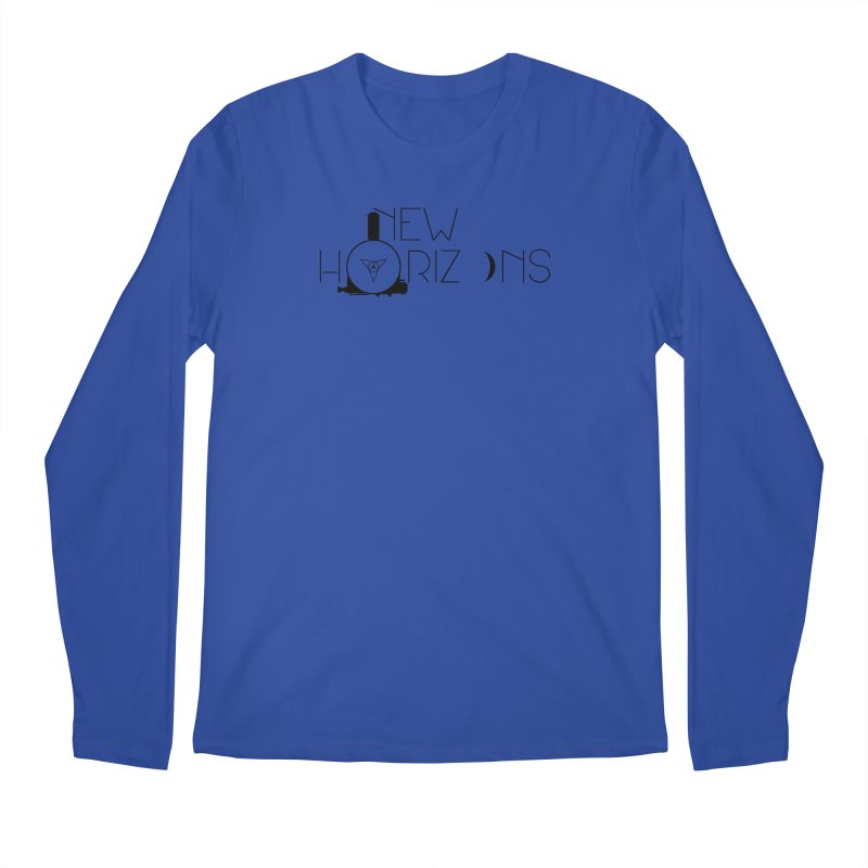 New Horizons Men's Regular Longsleeve T-Shirt by Photon Illustration's Artist Shop
