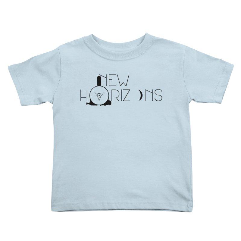 New Horizons Kids Toddler T-Shirt by Photon Illustration's Artist Shop