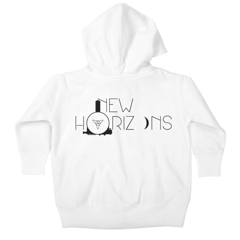 New Horizons Kids Baby Zip-Up Hoody by Photon Illustration's Artist Shop