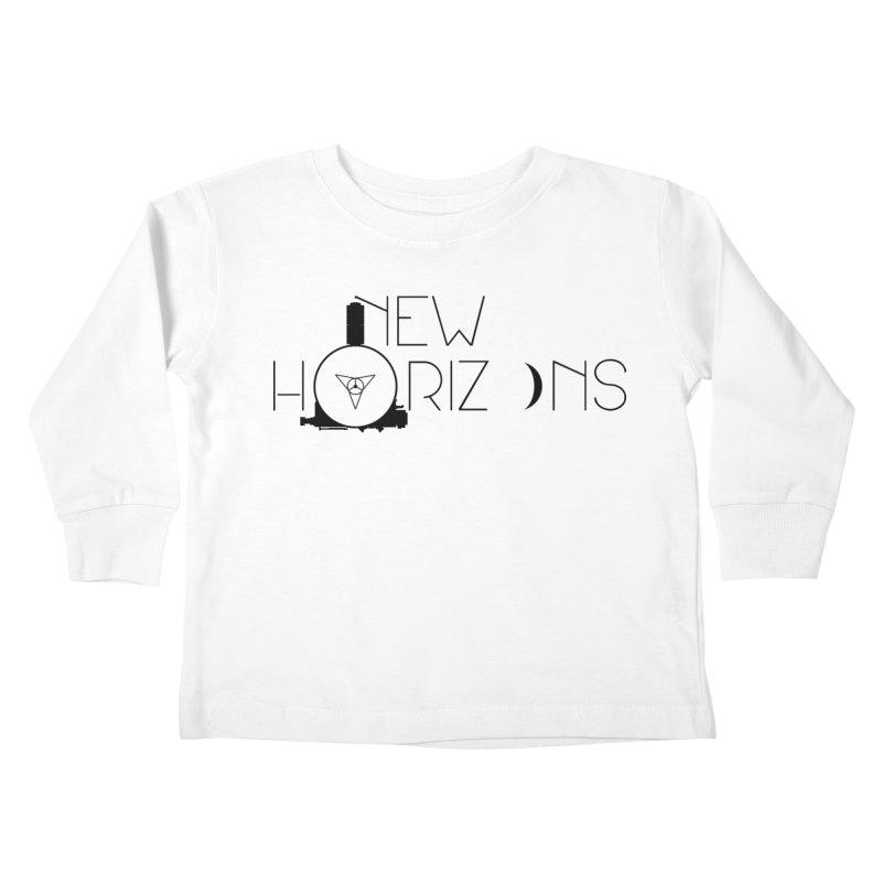 New Horizons Kids Toddler Longsleeve T-Shirt by Photon Illustration's Artist Shop