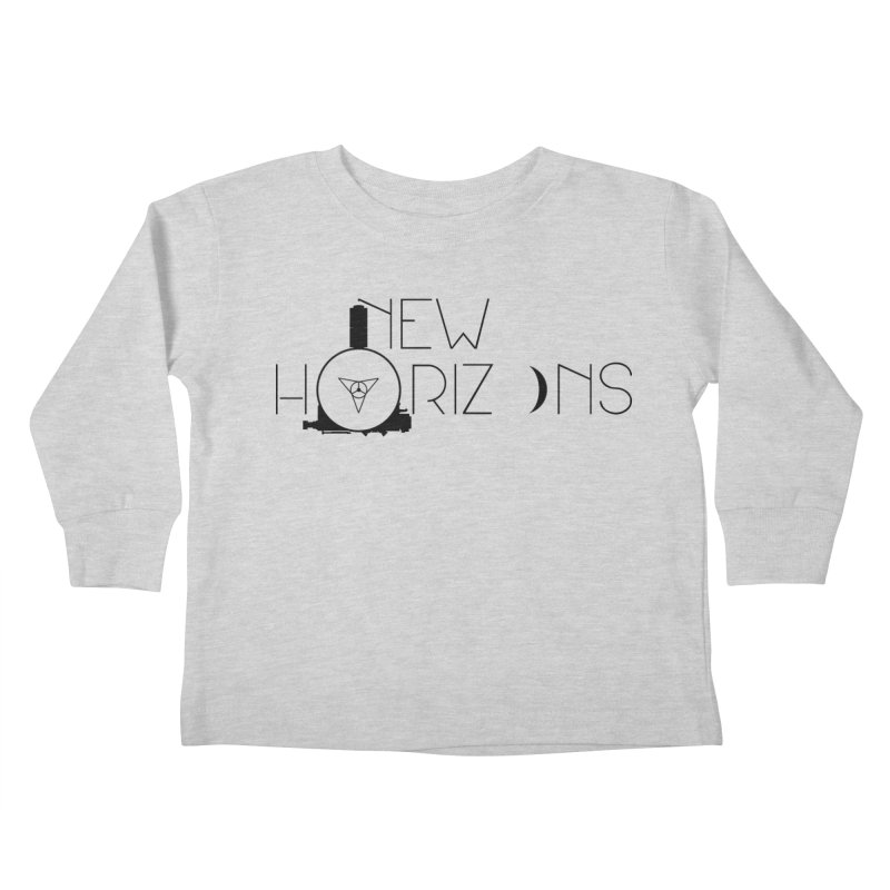 New Horizons Kids Toddler Longsleeve T-Shirt by Photon Illustration's Artist Shop