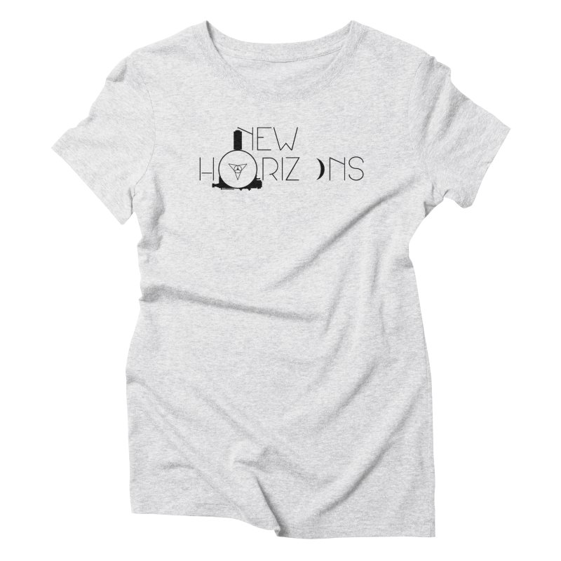 New Horizons Women's Triblend T-Shirt by Photon Illustration's Artist Shop
