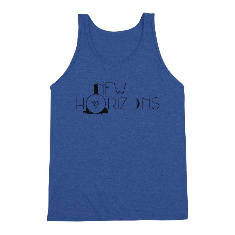 New Horizons Men's Tank by Photon Illustration's Artist Shop