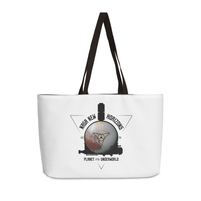 New Horizons and the Planet of the Underworld Accessories Weekender Bag Bag by Photon Illustration's Artist Shop