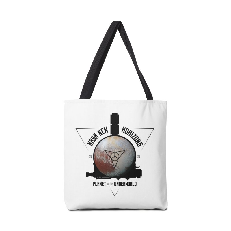 New Horizons and the Planet of the Underworld Accessories Tote Bag Bag by Photon Illustration's Artist Shop