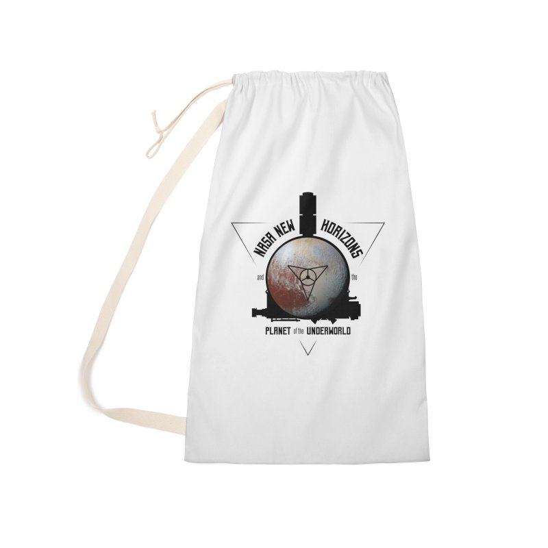 New Horizons and the Planet of the Underworld Accessories Laundry Bag Bag by Photon Illustration's Artist Shop