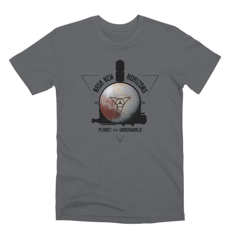 New Horizons and the Planet of the Underworld Men's Premium T-Shirt by Photon Illustration's Artist Shop