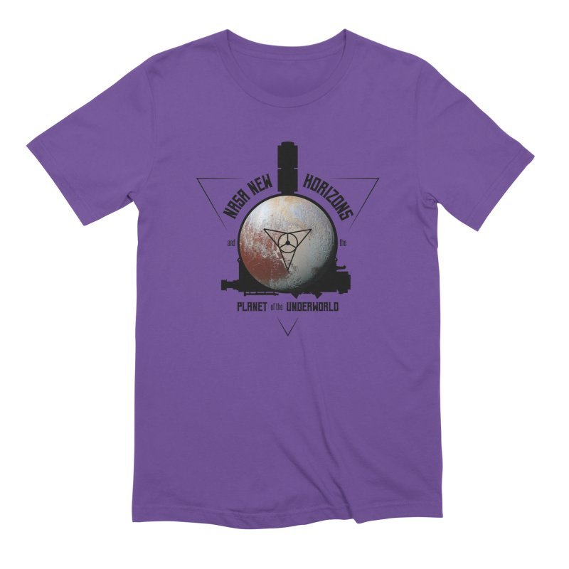 New Horizons and the Planet of the Underworld Men's Extra Soft T-Shirt by Photon Illustration's Artist Shop