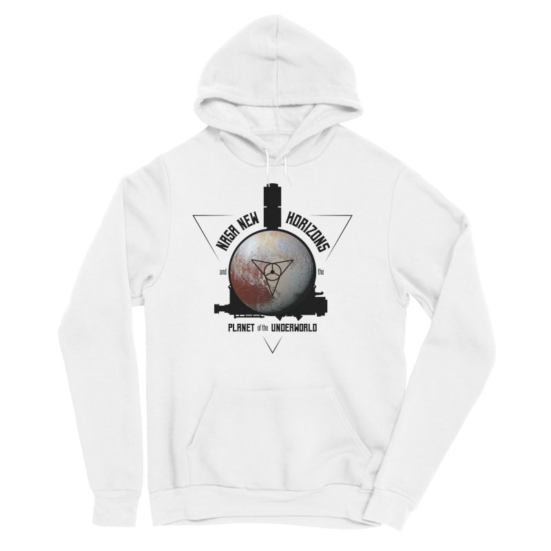 New Horizons and the Planet of the Underworld Men's Sponge Fleece Pullover Hoody by Photon Illustration's Artist Shop