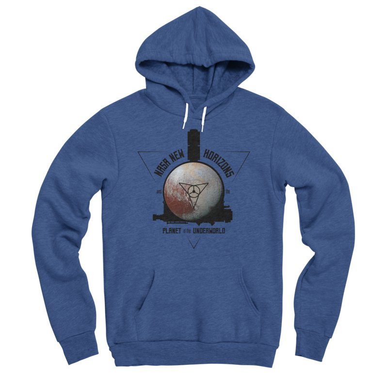 New Horizons and the Planet of the Underworld Women's Sponge Fleece Pullover Hoody by Photon Illustration's Artist Shop
