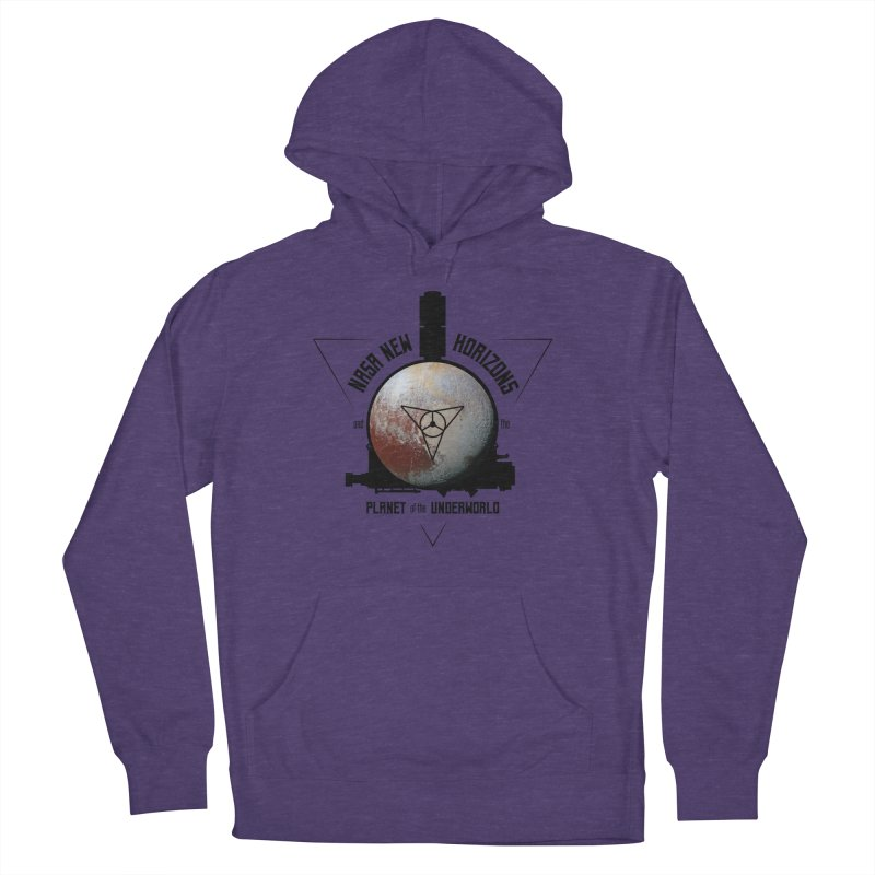 New Horizons and the Planet of the Underworld Women's French Terry Pullover Hoody by Photon Illustration's Artist Shop
