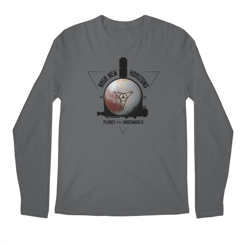 New Horizons and the Planet of the Underworld Men's Regular Longsleeve T-Shirt by Photon Illustration's Artist Shop