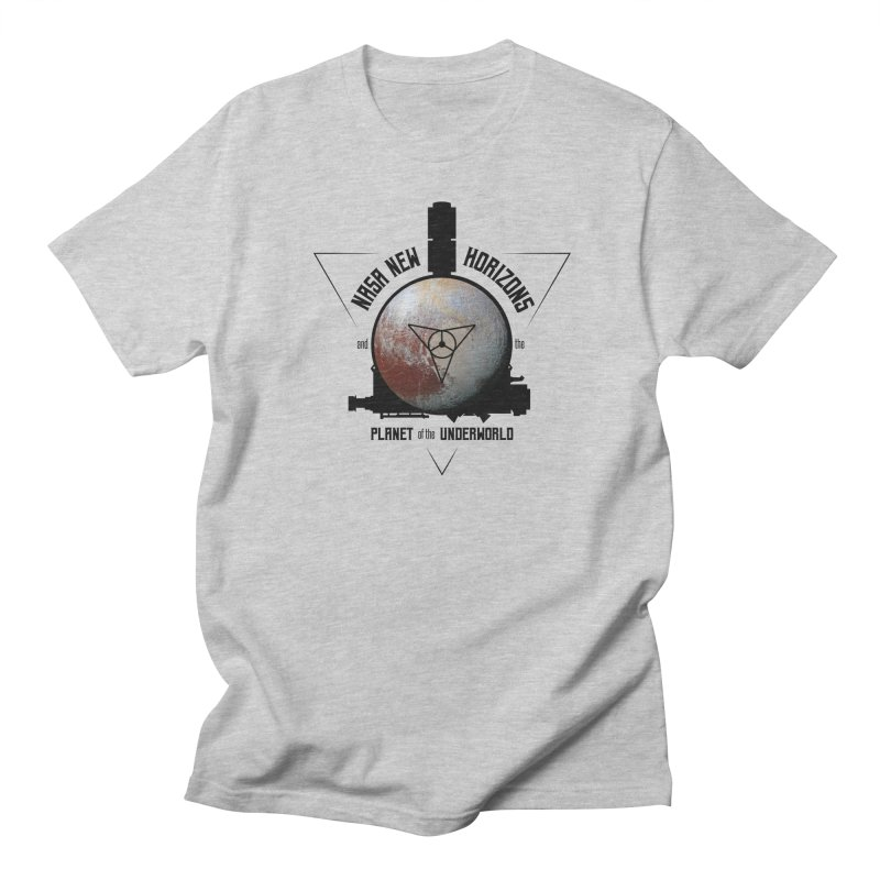 New Horizons and the Planet of the Underworld Women's Regular Unisex T-Shirt by Photon Illustration's Artist Shop