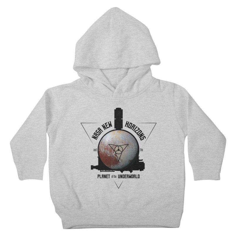 New Horizons and the Planet of the Underworld Kids Toddler Pullover Hoody by Photon Illustration's Artist Shop