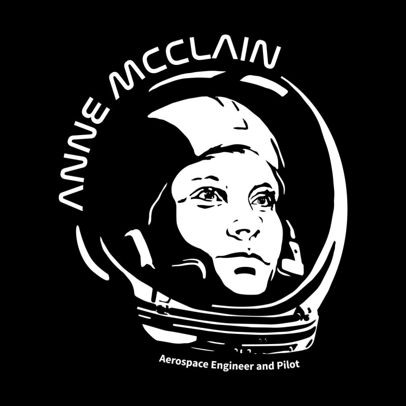 Women in Space: Anne McClain Men's V-Neck by Photon Illustration's Artist Shop