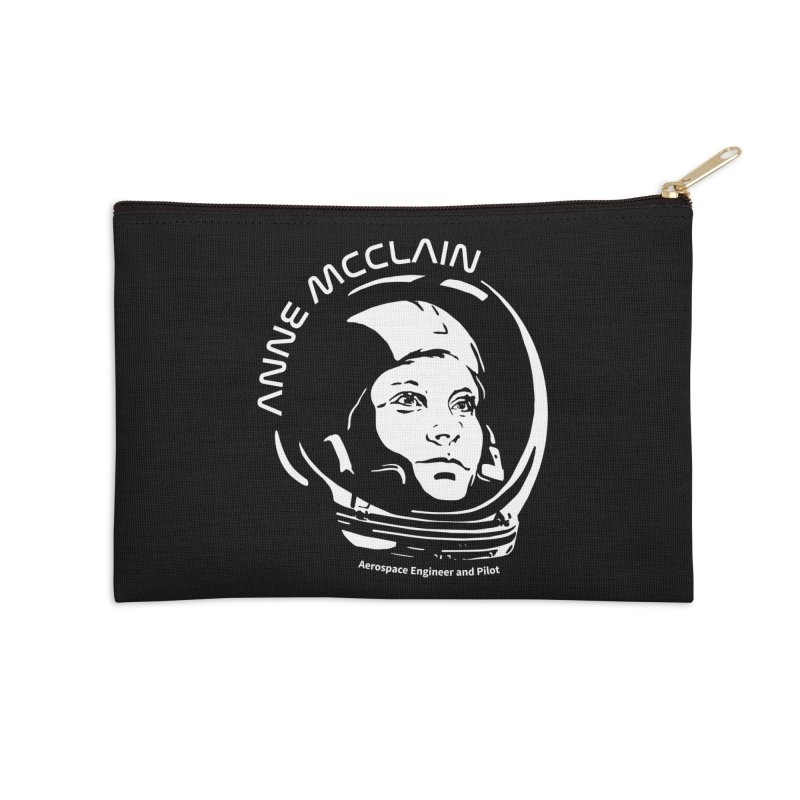 Women in Space: Anne McClain Accessories Zip Pouch by Photon Illustration's Artist Shop