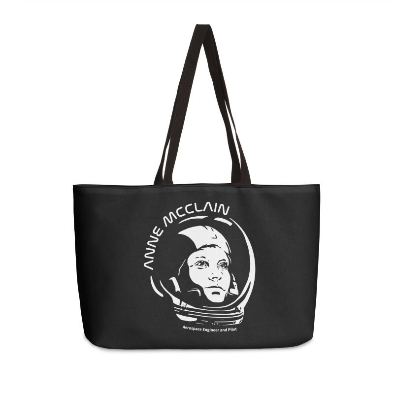 Women in Space: Anne McClain Accessories Weekender Bag Bag by Photon Illustration's Artist Shop
