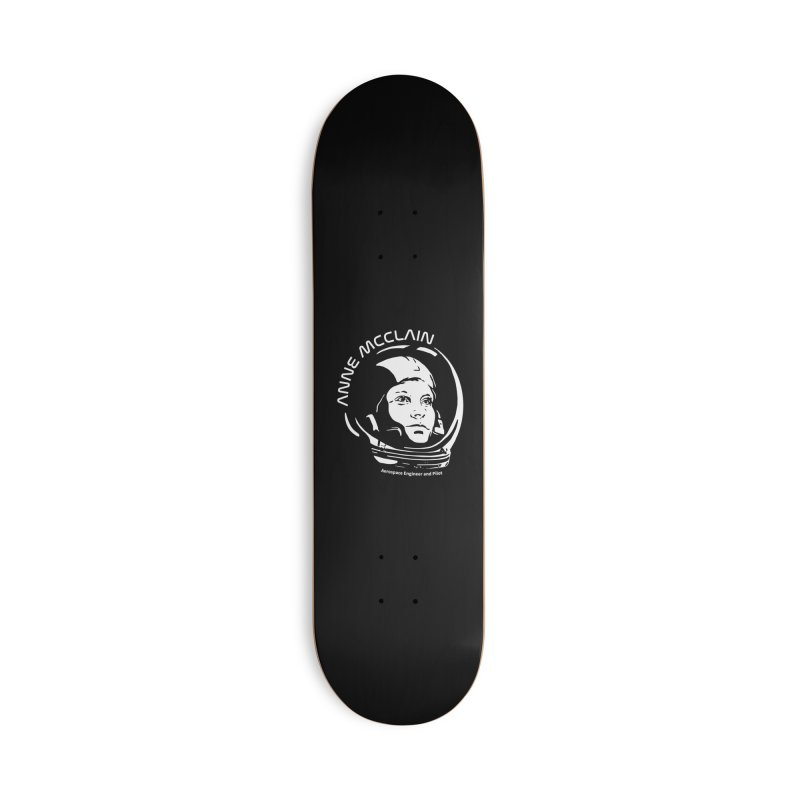 Women in Space: Anne McClain Accessories Deck Only Skateboard by Photon Illustration's Artist Shop