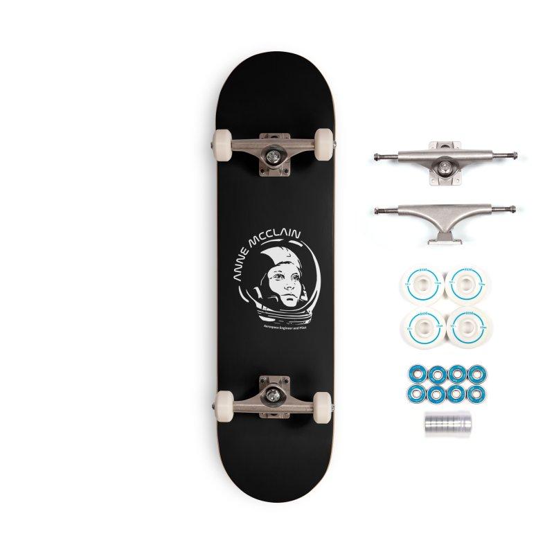 Women in Space: Anne McClain Accessories Complete - Basic Skateboard by Photon Illustration's Artist Shop