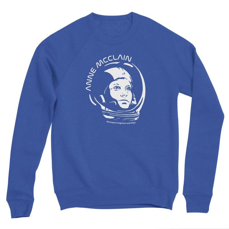 Women in Space: Anne McClain Men's Sweatshirt by Photon Illustration's Artist Shop