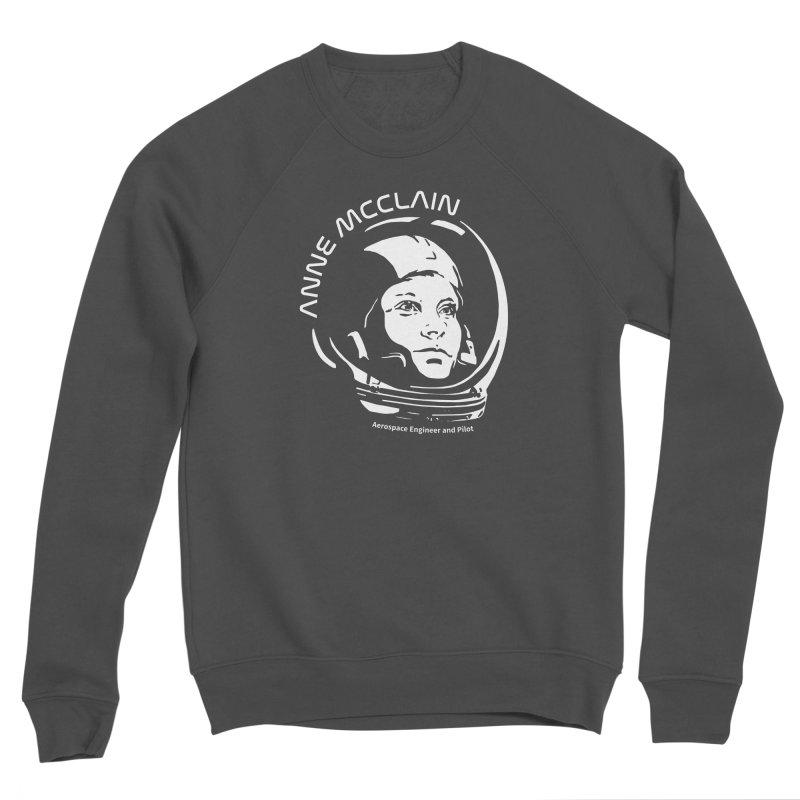 Women in Space: Anne McClain Women's Sponge Fleece Sweatshirt by Photon Illustration's Artist Shop