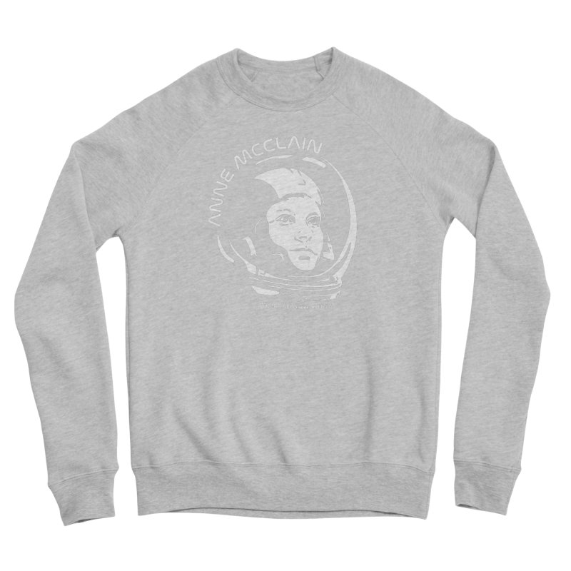Women in Space: Anne McClain Men's Sponge Fleece Sweatshirt by Photon Illustration's Artist Shop