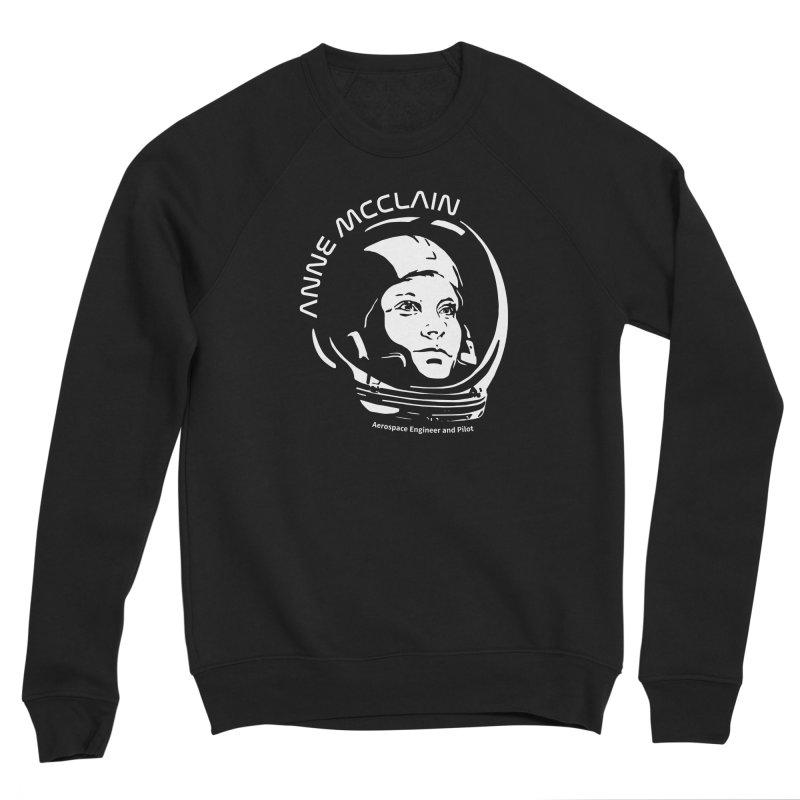 Women in Space: Anne McClain Men's Sponge Fleece Sweatshirt by Photon Illustration's Artist Shop