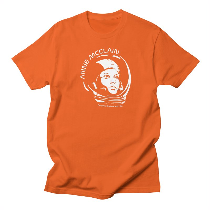 Women in Space: Anne McClain Men's T-Shirt by Photon Illustration's Artist Shop