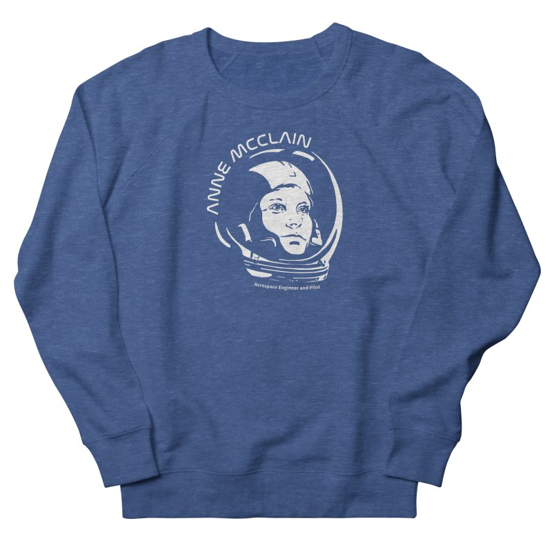 Women in Space: Anne McClain Men's Sweatshirt by Photon Illustration's Artist Shop