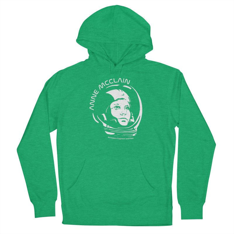 Women in Space: Anne McClain Women's French Terry Pullover Hoody by Photon Illustration's Artist Shop