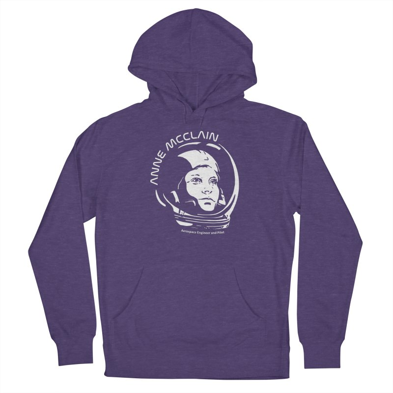 Women in Space: Anne McClain Men's French Terry Pullover Hoody by Photon Illustration's Artist Shop