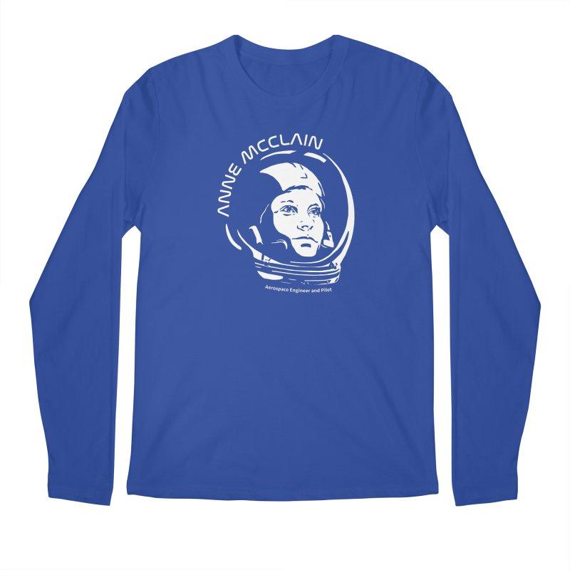 Women in Space: Anne McClain Men's Regular Longsleeve T-Shirt by Photon Illustration's Artist Shop