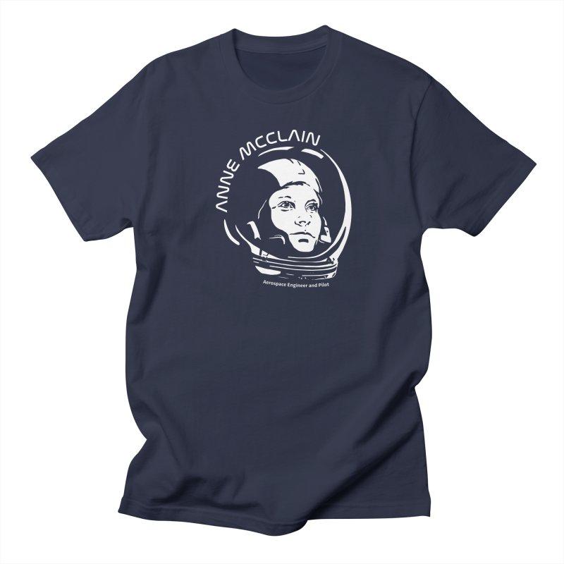 Women in Space: Anne McClain Men's Regular T-Shirt by Photon Illustration's Artist Shop
