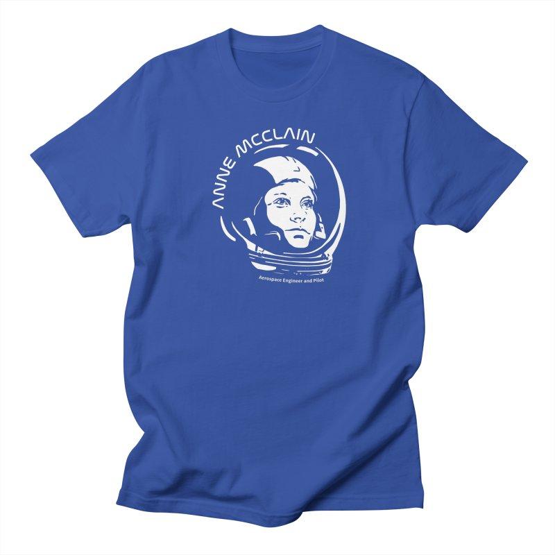 Women in Space: Anne McClain Women's Regular Unisex T-Shirt by Photon Illustration's Artist Shop