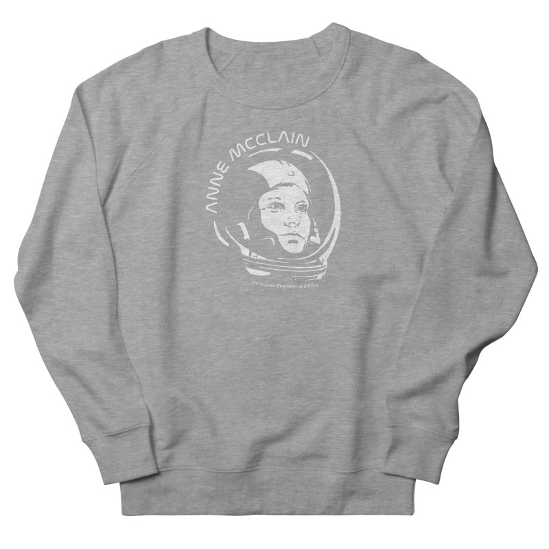 Women in Space: Anne McClain Women's French Terry Sweatshirt by Photon Illustration's Artist Shop