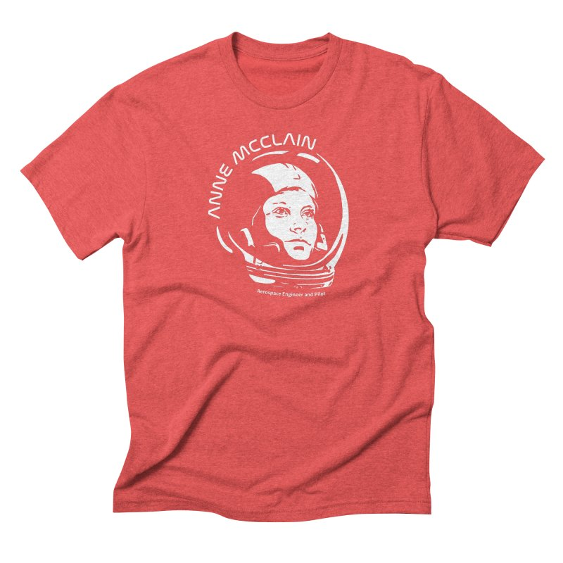 Women in Space: Anne McClain Men's Triblend T-Shirt by Photon Illustration's Artist Shop