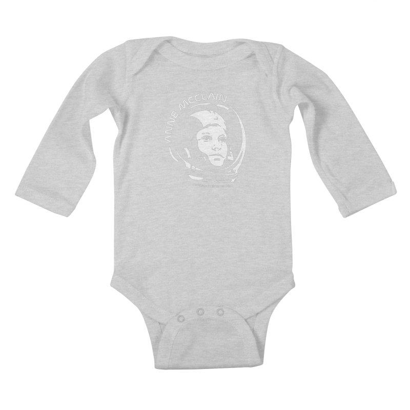 Women in Space: Anne McClain Kids Baby Longsleeve Bodysuit by Photon Illustration's Artist Shop