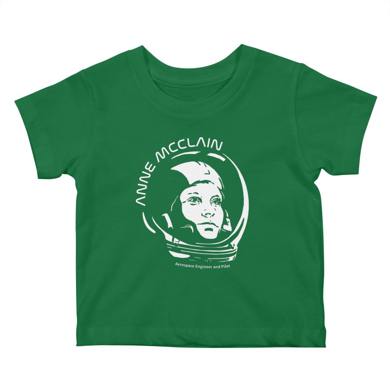 Women in Space: Anne McClain Kids Baby T-Shirt by Photon Illustration's Artist Shop