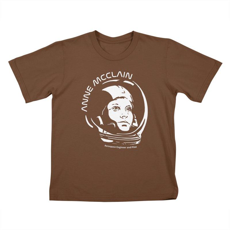 Women in Space: Anne McClain Kids T-Shirt by Photon Illustration's Artist Shop