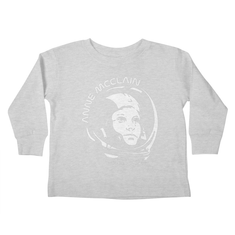 Women in Space: Anne McClain Kids Toddler Longsleeve T-Shirt by Photon Illustration's Artist Shop