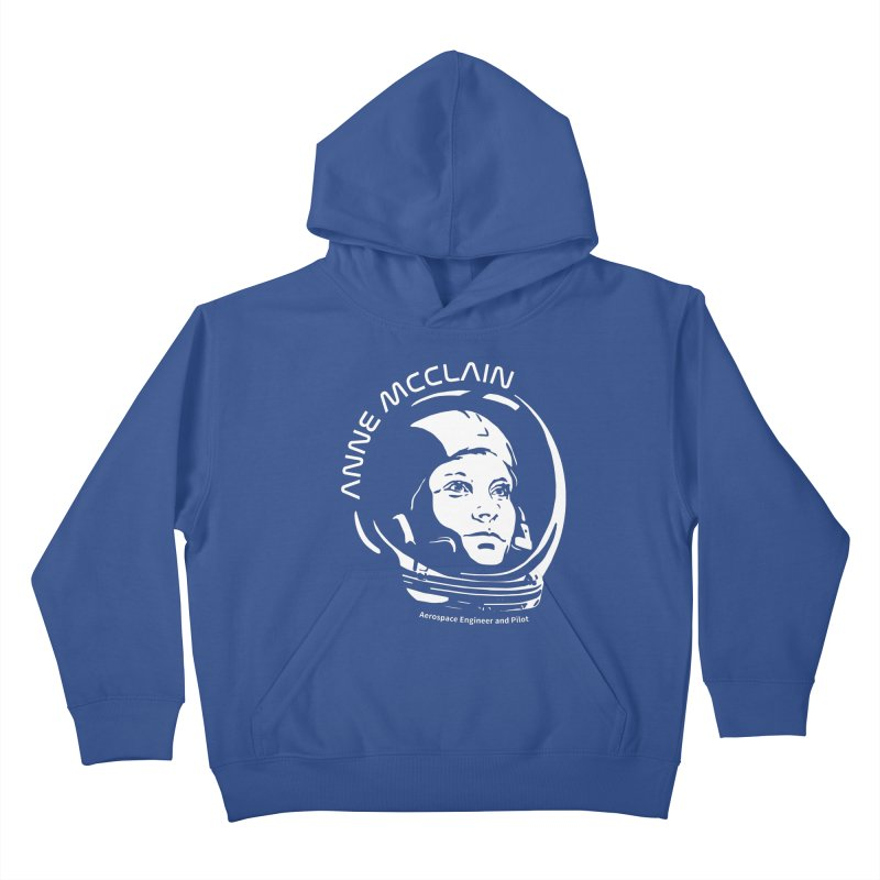 Women in Space: Anne McClain Kids Pullover Hoody by Photon Illustration's Artist Shop