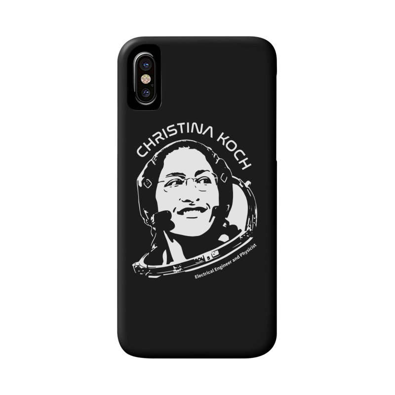 Women in Space: Christina Koch Accessories Phone Case by Photon Illustration's Artist Shop