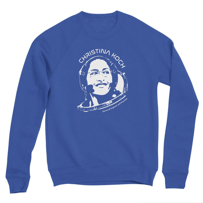 Women in Space: Christina Koch Men's Sweatshirt by Photon Illustration's Artist Shop