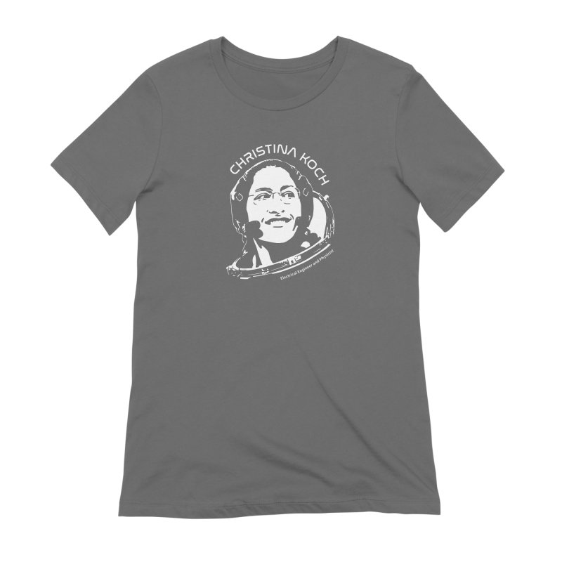 Women in Space: Christina Koch Women's Extra Soft T-Shirt by Photon Illustration's Artist Shop