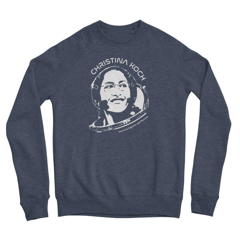 Women in Space: Christina Koch Men's Sponge Fleece Sweatshirt by Photon Illustration's Artist Shop