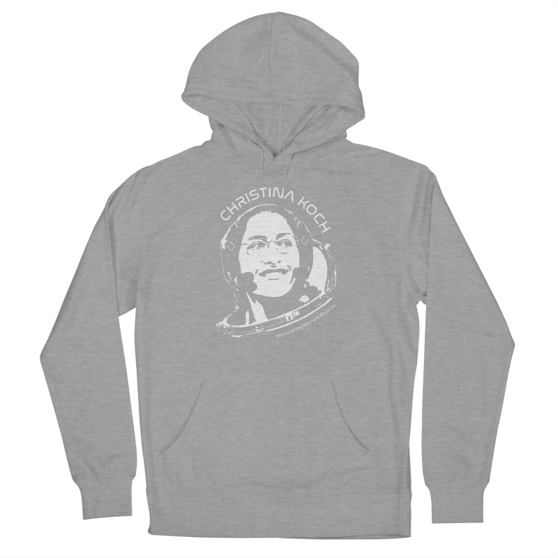 Women in Space: Christina Koch Women's Pullover Hoody by Photon Illustration's Artist Shop