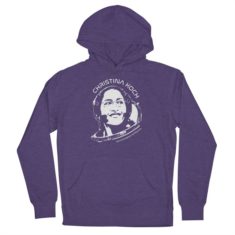 Women in Space: Christina Koch Women's French Terry Pullover Hoody by Photon Illustration's Artist Shop